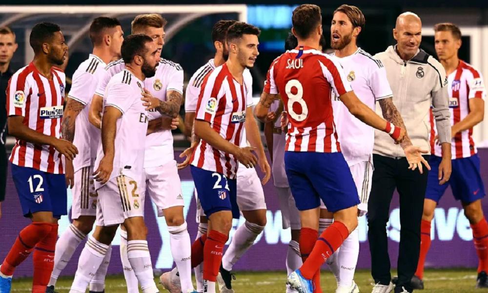 Атлетико реал мадрид история встреч